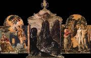El Greco The Modena Triptych oil painting picture wholesale