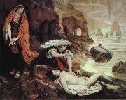 Ford Madox Brown Haydee Discovers the Body of Don Juan oil painting picture wholesale