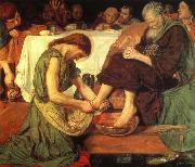 Ford Madox Brown Jesus Washing oil painting picture wholesale