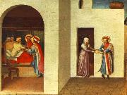 Fra Angelico The Healing of Palladia by Saint Cosmas and Saint Damian oil painting picture wholesale