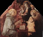 Fra Filippo Lippi The Virgin Appears to St Bernard oil painting picture wholesale