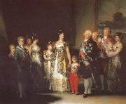 Francisco Goya Charles IV with his family oil painting picture wholesale