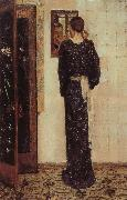George Hendrik Breitner The Earring oil painting artist