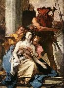 Giovanni Battista Tiepolo The Martyrdom of St Agatha oil painting picture wholesale