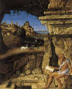 Giovanni Bellini The Holy Hieronymus laser oil painting picture wholesale