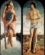 Giovanni Bellini Polyptych of S. Vincenzo Ferreri oil painting picture wholesale