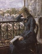 Hans Olaf Heyerdahl At the Window oil painting