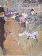 Henri de toulouse-lautrec Pa Moulin Rouge Kadrilj borjar oil painting picture wholesale