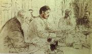 Ilya Repin Repin-s  pencil sketch oil painting picture wholesale