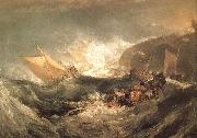 J.M.W. Turner The Wreck of a transport ship oil painting picture wholesale
