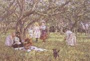 James Charles The Picnic oil painting picture wholesale