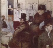 Jean-Louis Forain In the  Cafe oil painting picture wholesale