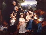 John Singleton Copley The family copley oil painting picture wholesale
