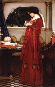 John William Waterhouse The Crystal Ball oil painting picture wholesale