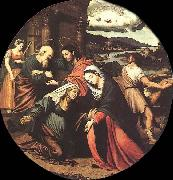 Juan Vicente Masip The Visitation oil painting artist