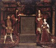 Leemput, Remigius van Henry VII, Elizabeth of York, Henry VIII, and Jane Seymour oil painting picture wholesale