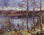 Lovis Corinth Easter at Lake Walchen oil painting reproduction