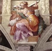 Michelangelo Buonarroti The Libyan Sibyl oil painting picture wholesale