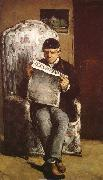 Paul Cezanne Konstnarens father oil painting picture wholesale