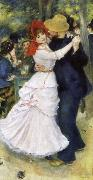 Pierre-Auguste Renoir Dance at Bougival oil painting picture wholesale