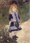 Pierre-Auguste Renoir Girl with trida Spain oil painting artist
