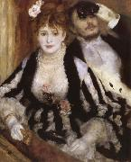 Pierre-Auguste Renoir The Teatre Box oil painting picture wholesale