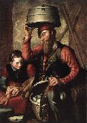 Pieter Aertsen Vendor of Fowl oil painting picture wholesale