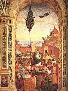 Pinturicchio Aeneas Piccolomini Arrives to Ancona oil painting artist