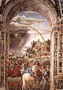 Pinturicchio Aeneas Piccolomini Leaves for the Council of Basle oil painting picture wholesale