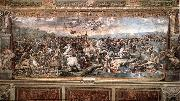 RAFFAELLO Sanzio The Battle at Pons Milvius oil painting picture wholesale
