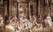 RAFFAELLO Sanzio The Baptism of Constantine oil painting picture wholesale