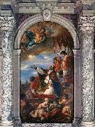 RICCI, Sebastiano Altar of St Gregory the Great oil painting picture wholesale