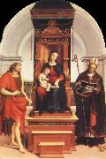 Raphael Virgin and Child with SS.John the Baptist and Nicholas oil painting picture wholesale