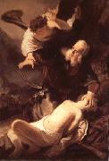 Rembrandt van rijn The Sacrifice of Isaac oil painting picture wholesale