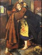 Sir John Everett Millais Escape of a Heretic oil painting picture wholesale