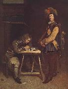 TERBORCH, Gerard Officer Writing a Letter oil painting picture wholesale