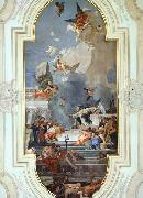 TIEPOLO, Giovanni Domenico The Institution of the Rosary oil painting picture wholesale