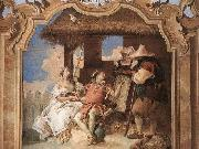 TIEPOLO, Giovanni Domenico Angelica and Medoro with the Shepherds oil painting picture wholesale