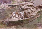 Theodore Robinson Two in a Boat oil painting picture wholesale