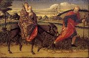 Vittore Carpaccio Escape to Egypt oil painting artist