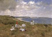 William Merrit Chase Idle Hours oil painting picture wholesale
