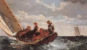 Winslow Homer It borjar fraiska in oil painting picture wholesale