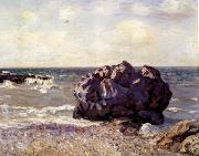 Alfred Sisley Langland Bay,Storr s Rock-Morning oil painting picture wholesale
