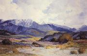 Anna Hills San Gorgonio from Beaumont oil painting artist