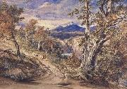 Anthony Vandyck Copley Fielding Scence in Glen Falloch,Argyllshire (mk47) oil