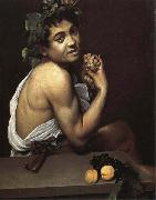 Caravaggio Self-Portrait as Bacchus oil painting picture wholesale