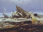 Caspar David Friedrich The Polar Sea (mk45) oil painting picture wholesale