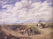 David Cox Keep the Left Road (mk47) oil painting artist