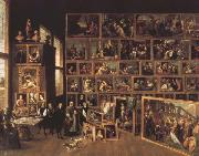David Teniers Archduke Leopold Wilhelm's Gallery at Brussels (mk45) oil painting picture wholesale