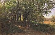 Edmund George Warren,RI Rest in the cool and shady Wood (mk46) oil painting picture wholesale
